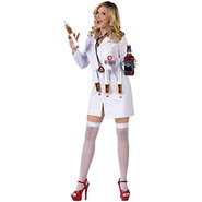 Dr. Shots Women?s Costume