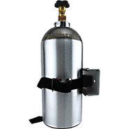 Single Gas Cylinder Safety Wall Bracket