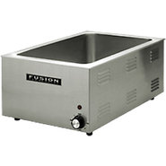 Fusion Commercial Countertop Food Warmer - Stainle