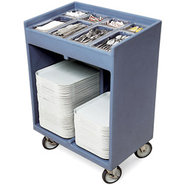 Cambro Tray & Silverware Cart