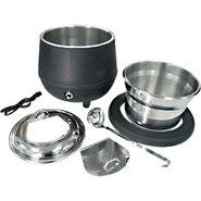Commercial Electric Soup Kettle Warmer - 10.5 Quar