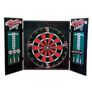 Coors Light Cabinet Dart Board