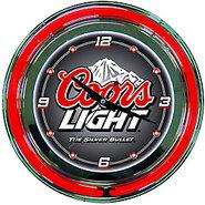 8-Ball Neon Wall Clock