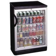 Summit Glass Door Free Standing Refrigerator - 5.5