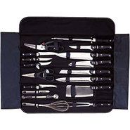 Berghoff Knife Set with Roll Bag - 18 Pieces