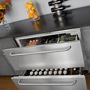 Summit Built-In Drawer Refrigerator - 6.7 cu. ft.