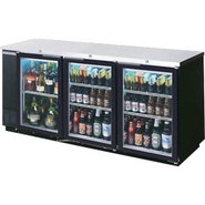 Beverage Air Back Bar Glass Door Refrigerator - 33