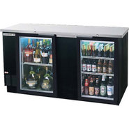 Beverage Air Back Bar Glass Door Refrigerator - 28