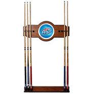 Miller Lite Billiards Wooden Pool Cue Rack