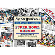 Super Bowl History New York Times Newspaper Compil
