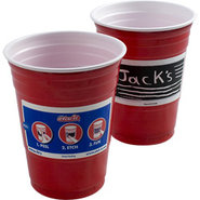 Etch-it Disposable Write-On Party Cups - 18 oz