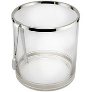 Colin Cowie Glass Ice Bucket with Tongs ? 1.98 gal