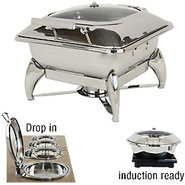 Commercial Stainless Steel Chafing Dish - Square