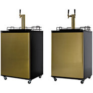 Summit Commercial Keg Refrigerator - Brass