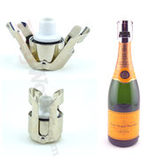Champagne Bottle Saver Stopper