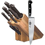 Victorinox Premium Forged Bamboo Knife Block Set ?