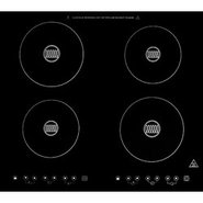 Summit Built-In Four Zone Glass Induction Cooktop