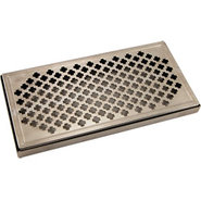 12  Surface Mount Drip Tray - Stainless Steel - No