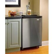 Haier Kegerator with Stainless Steel Door and Cabi