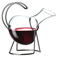 Bormioli Rocco Premium Alfa Wine Decanter with Hol