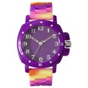 Xhilaration Girls Rubber Strap Watch - Multicolor