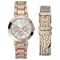 Women's Watch with Interchangeable Straps - Rose G