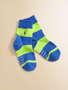 Toddler's & Little Boy's Rugby Crew Socks