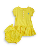 Infant&#39;s Ruffled Henley Dress
