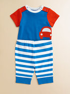 Infant&#39;s Car Bodysuit and Pants Set