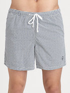 Patterned Board Shorts