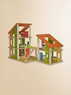 Chalet Dollhouse & Furniture Set