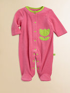 Infant&#39;s Terry Tulip Footie