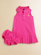 Infant&#39;s Polo Dress &amp; Bloomers Set