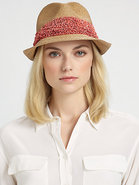 Max Straw Fedora
