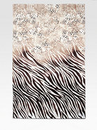 Safari Sheared-Print Beach Towel