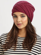 Rib-Knit Beanie
