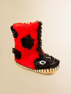 Toddler&#39;s &amp; Little Girl&#39;s Ladybug Slippers
