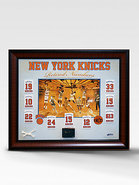 New York Knicks Retired Numbers Collage