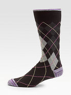 Corinthian Argyle Socks