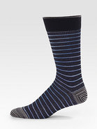 Striped and Printed Dress Socks