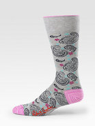 Paisley Dress Socks