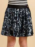 Girl's Sequined Skirt