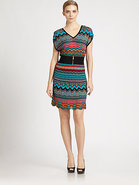 Multi-Stitch Sweater Dress