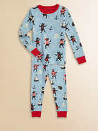 Toddler's & Little Boy's Pirate Dogs Pajama Set