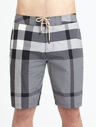 Laguna Check Swim Trunks