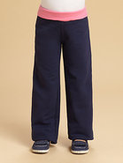 Toddler's & Little Girl's Zoe Contrast-Waist Pants