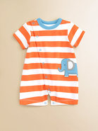 Infant's Striped Elephant Shortall