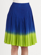 Mini Pleat Degrad? Skirt