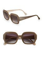 Pine Square Acetate Sunglasses