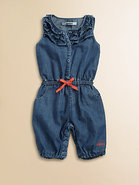 Infant's Denim Romper